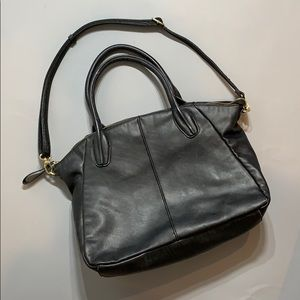 Forever 21 plain black bag